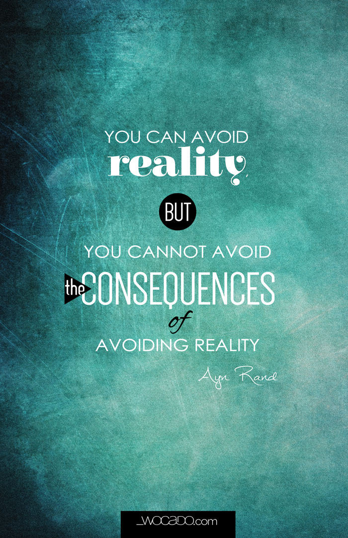 You can avoid reality - Printable 11x17 by WOCADO